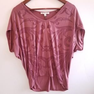 NEW CAbi 612 Rose Charm Top Size S